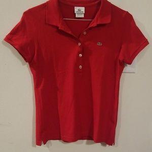 LACOSTE  shirt size 42 / US  L